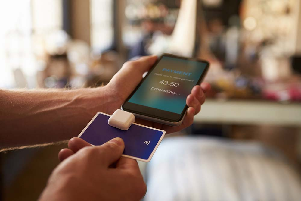 Phone Credit Card Scanner in Albion